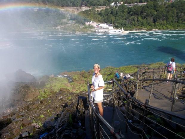 Me next to American Falls, Niagara Falls State Park, New York