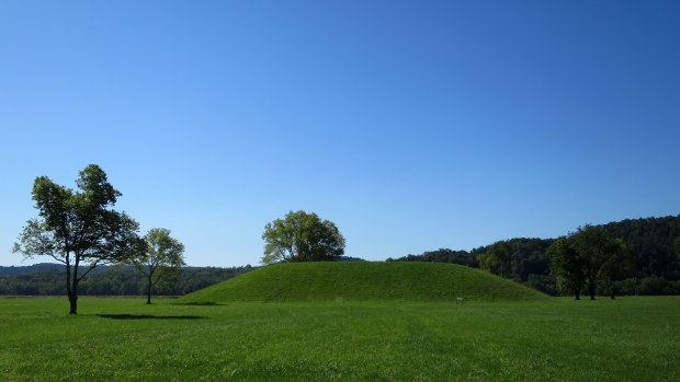 Seip-Pricer Mound, Seip Earthworks, Hopewell Culture National Historical Park, Ohio