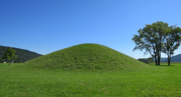 Burial mound, Seip Earthworks, Hopewell Culture National Historical Park, Ohio