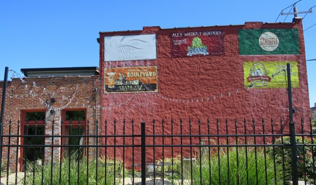 Patio of the International Tap House (also unfortunately closed), Soulard, St. Louis, Missouri
