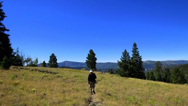 Terry on Rattlesnake Trail, Ashdown Gorge Wilderness, Dixie National Forest, Utah