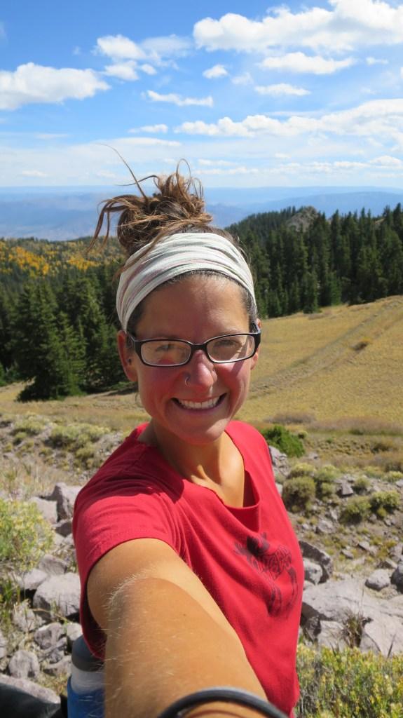 Me, Skyline Trail, Fishlake National Forest, Utah