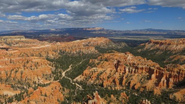 Inspiration Point, Rim Trail, Bryce Canyon National Park, Utah