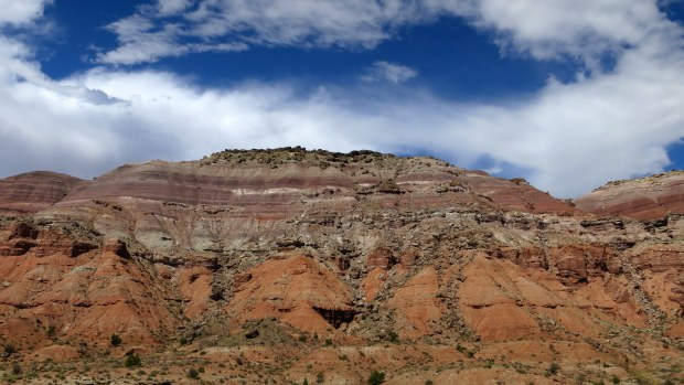 Castle Valley from I-70, Utah