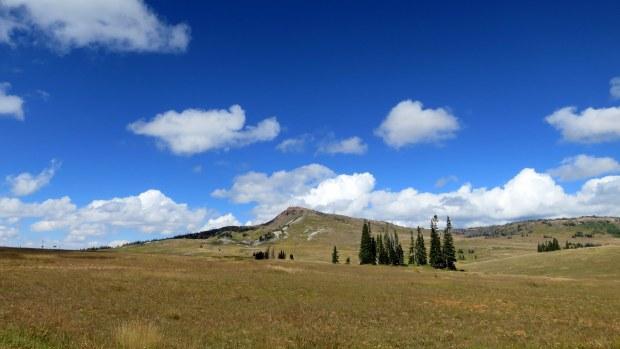 View of Brian Head Peak, Dixie National Forest, Utah
