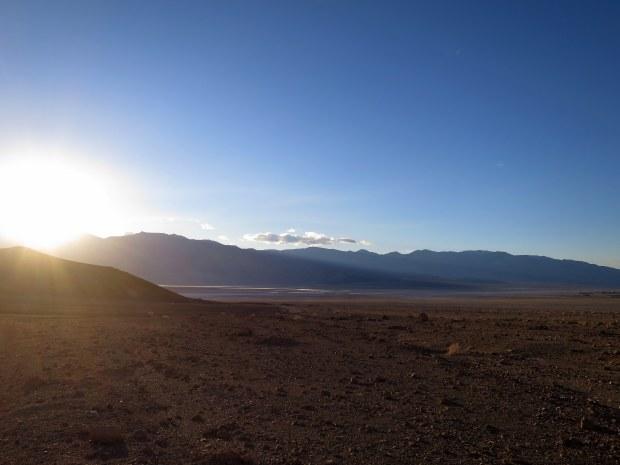 Exiting Desolation Canyon, Death Valley National Park, California