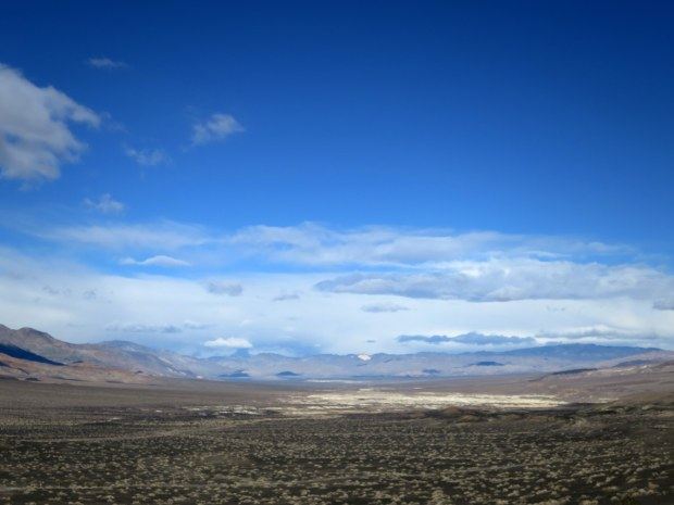 Volcanic plains near Ubehebe Crater, Death Valley National Park, California