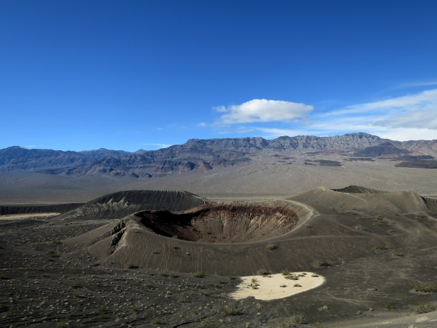 Little Hebe Crater, Death Valley National Park, California