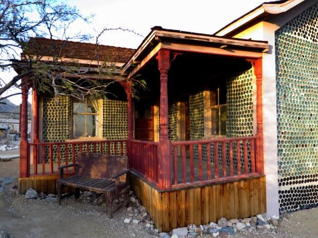 Porch, Bottle House, Rhyolite, Nevada