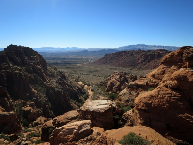 Overlooking Snow Canyon, Snow Canyon State Park, Utah