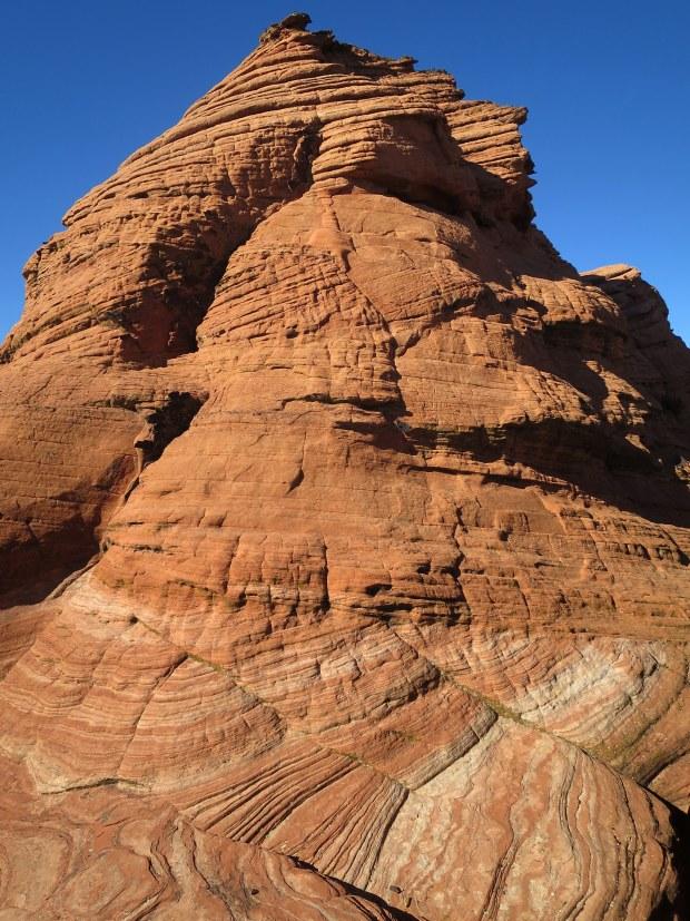 Petrified dunes, Snow Canyon State Park, Utah
