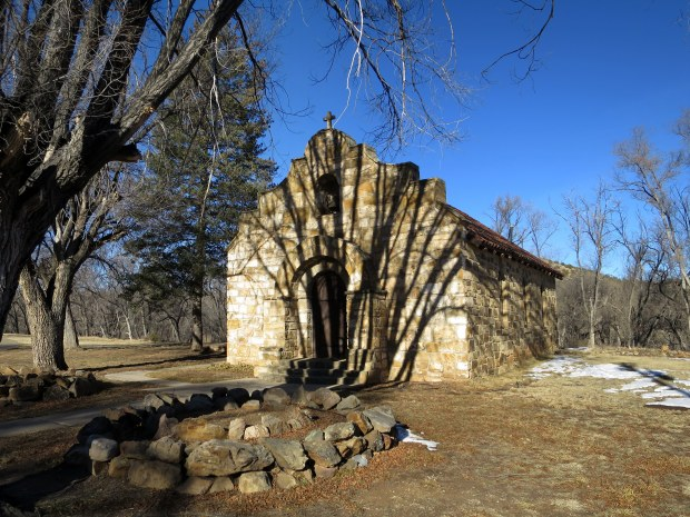 Catholic chapel at Fort Stanton, New Mexico