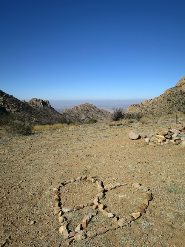 Top of the pass, Baylor Pass Trail, Organ Mountain-Desert Peaks National Monument, New Mexico