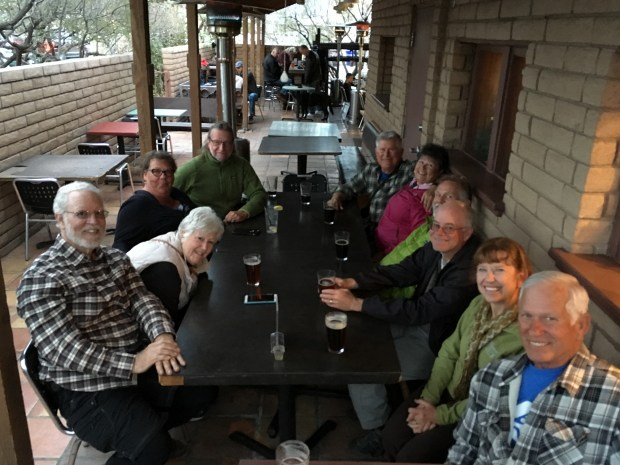 Happy hour at High Desert Brewery