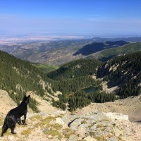 Hiking to Lake Peak