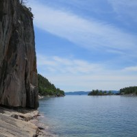 Lake Superior Provincial Park, Part 5: Agawa Rocks Pictographs and Sinclair Cove