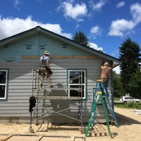 Building with Kootenai Valley Partners Habitat for Humanity , Part 1