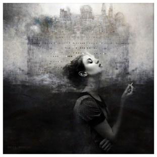 Circles Series - Digital collage by Danii Kessjan