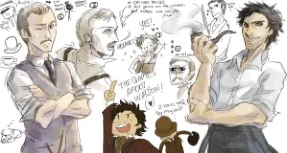 sherlock_holmes_doodle_by_that_nobody