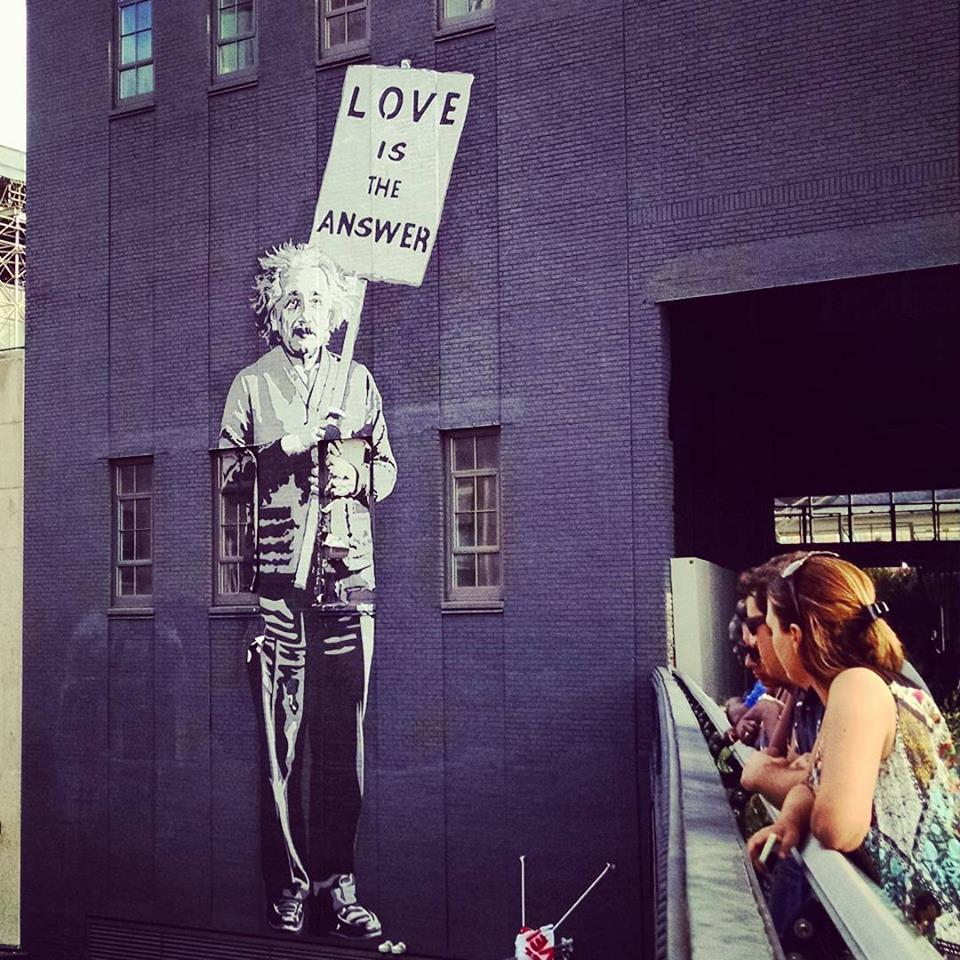 einstein-street-art-The Highline-photos-de-Street-Art
