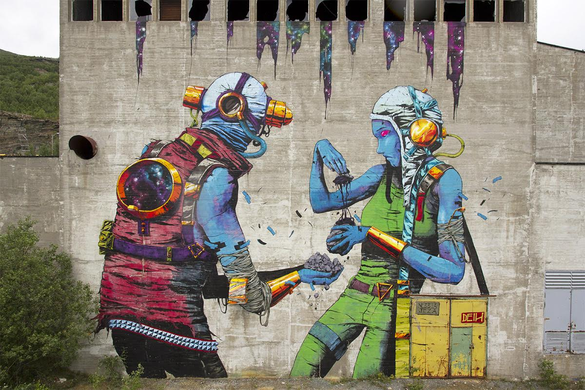 A stunning piece by DEIH for UpNorth Festival