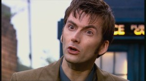 The 10th Doctor. Played by , quite possible, the most charming person on the planet.