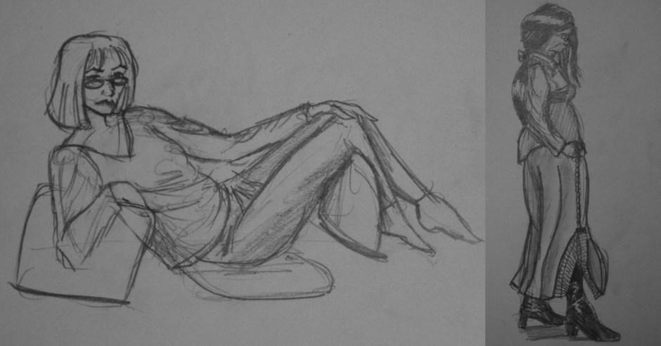 Cosplay Sketchoff Sketches