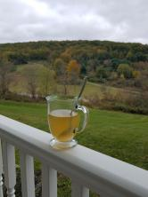 Tea on a fall morning