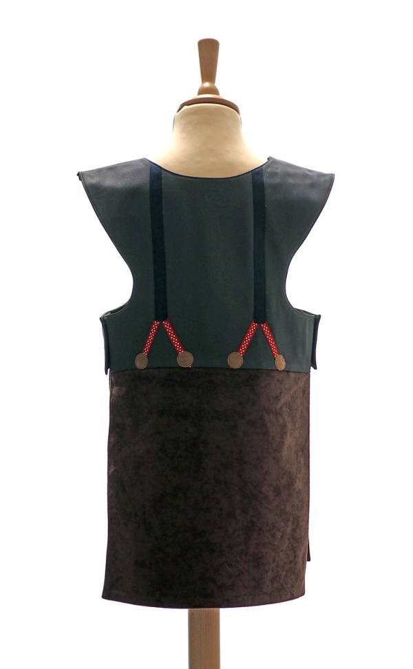 Woodcutter tabard back view