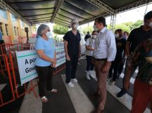 Governador Wilson Lima entrega respiradores para o combate à Covid-19 e diz que momento é de proteger vidas