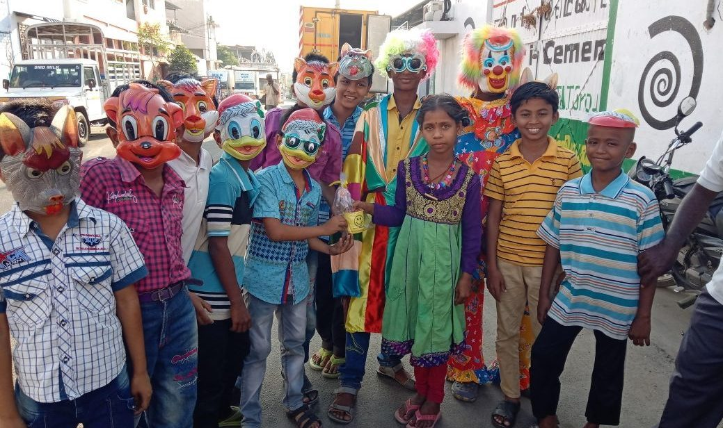 Purim al Zion Torah Center di Erode, in India