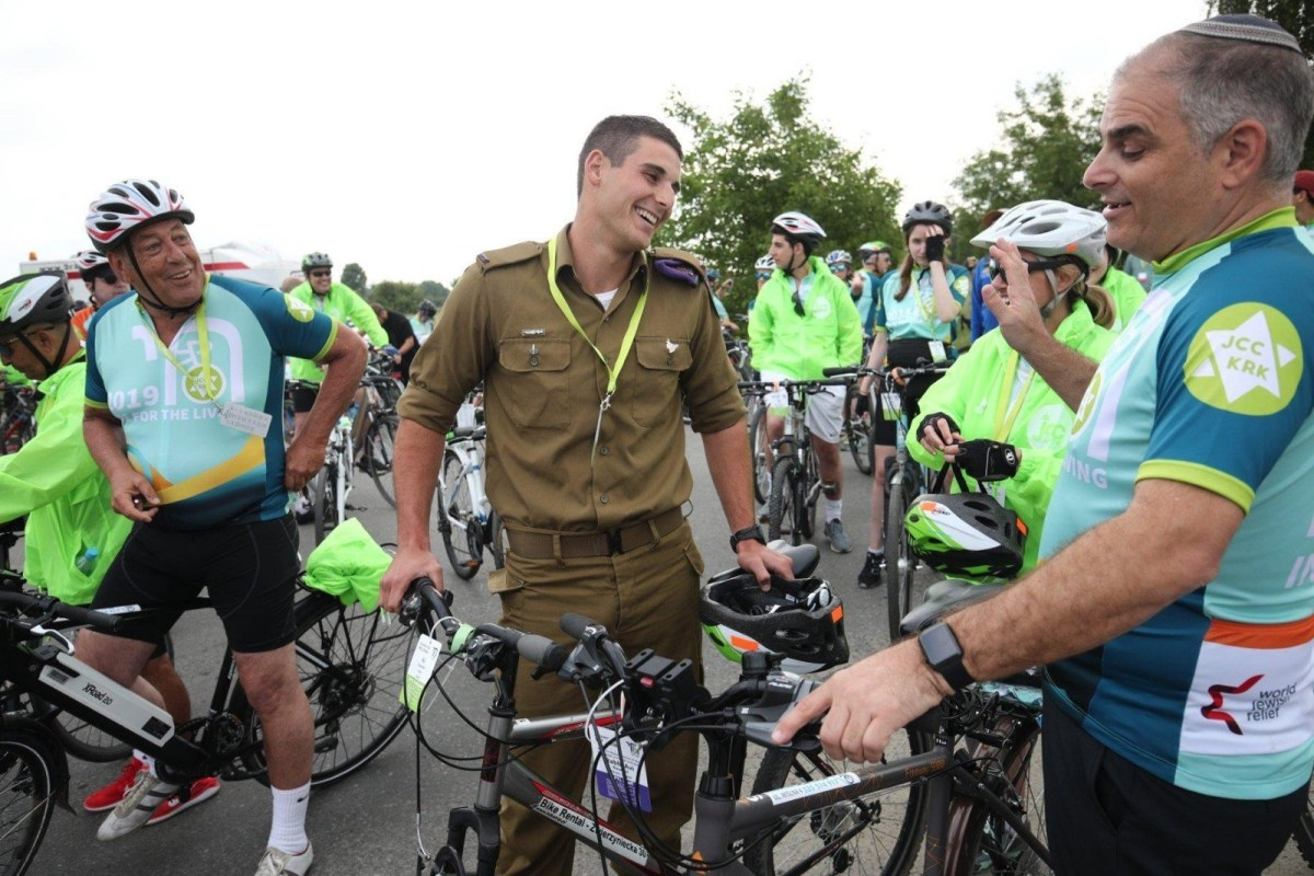 "Un commovente legame tra Shavei Israel e ""Ride for the Living"""