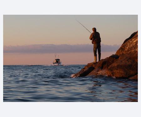 Fishing, Port Darlington