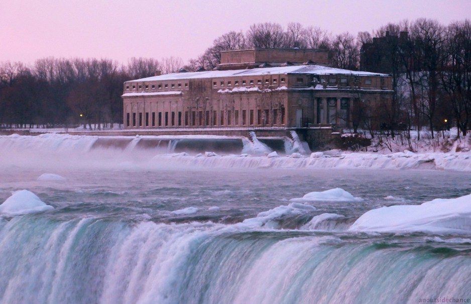 Generating station near Niagara Falls