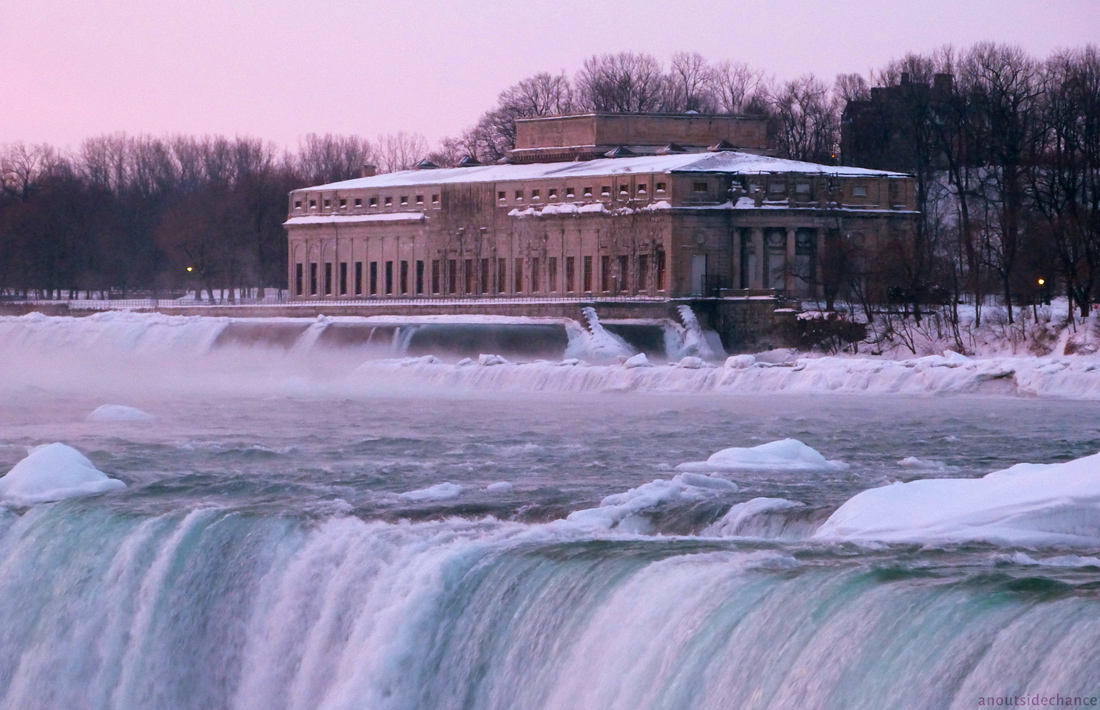 The Toronto Power Generating Station at Niagara Falls