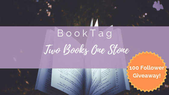 Two Books One Stone Book Tag + GiveAway Announcement