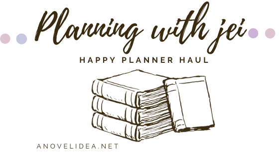 Planning with Jei: Happy Planner Haul