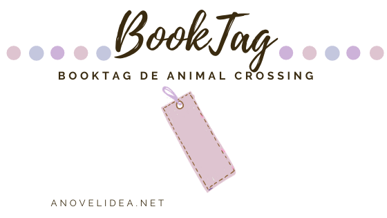 Book tag de animal crossing