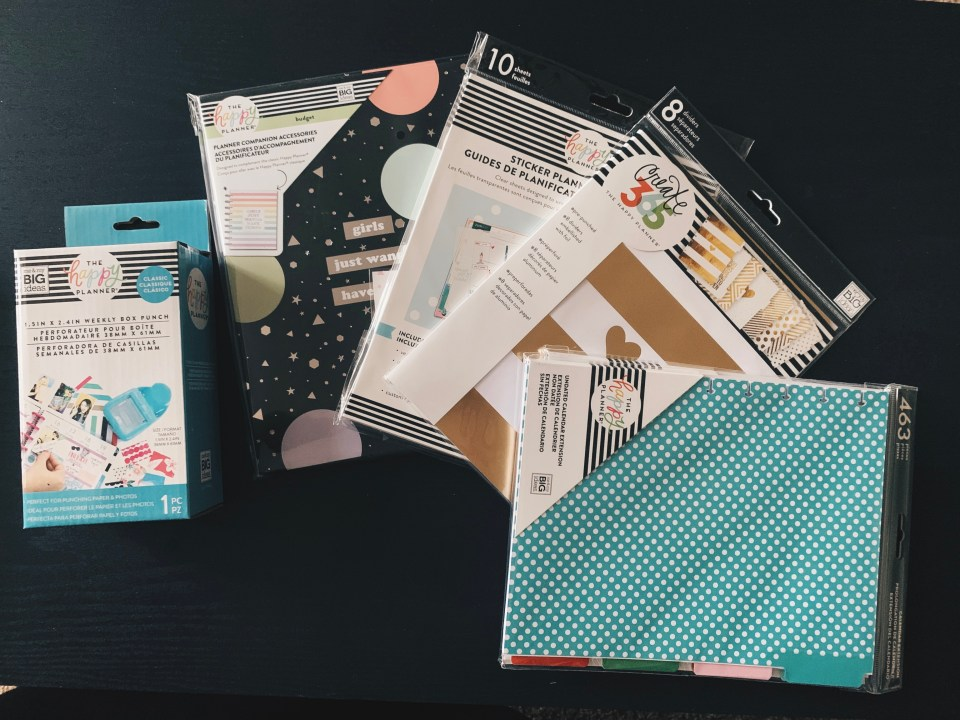 Happy Planner Haul - 4