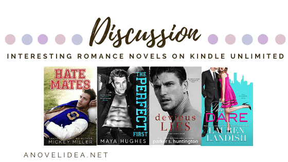 Give me all the romance! Join me as I show you some kindle unlimited romance novel suggestions! Click here to read more!