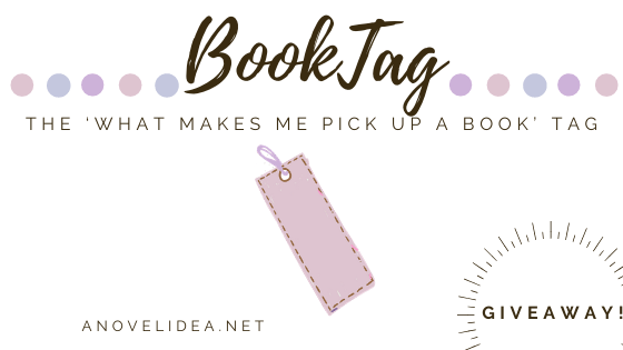 The 'What Makes Me Pick Up a Book' Tag