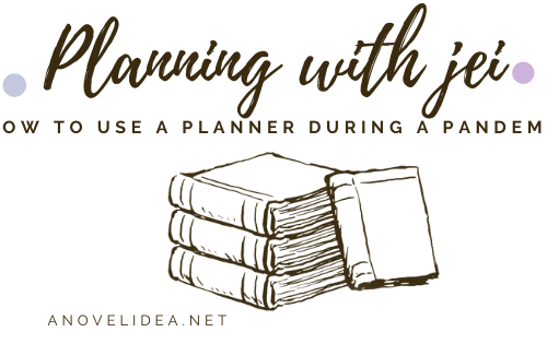How do you use a planner during a pandemic
