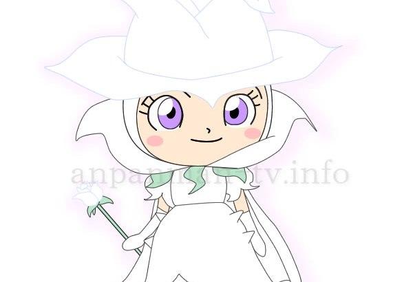 白バラ女王 画像 イラスト