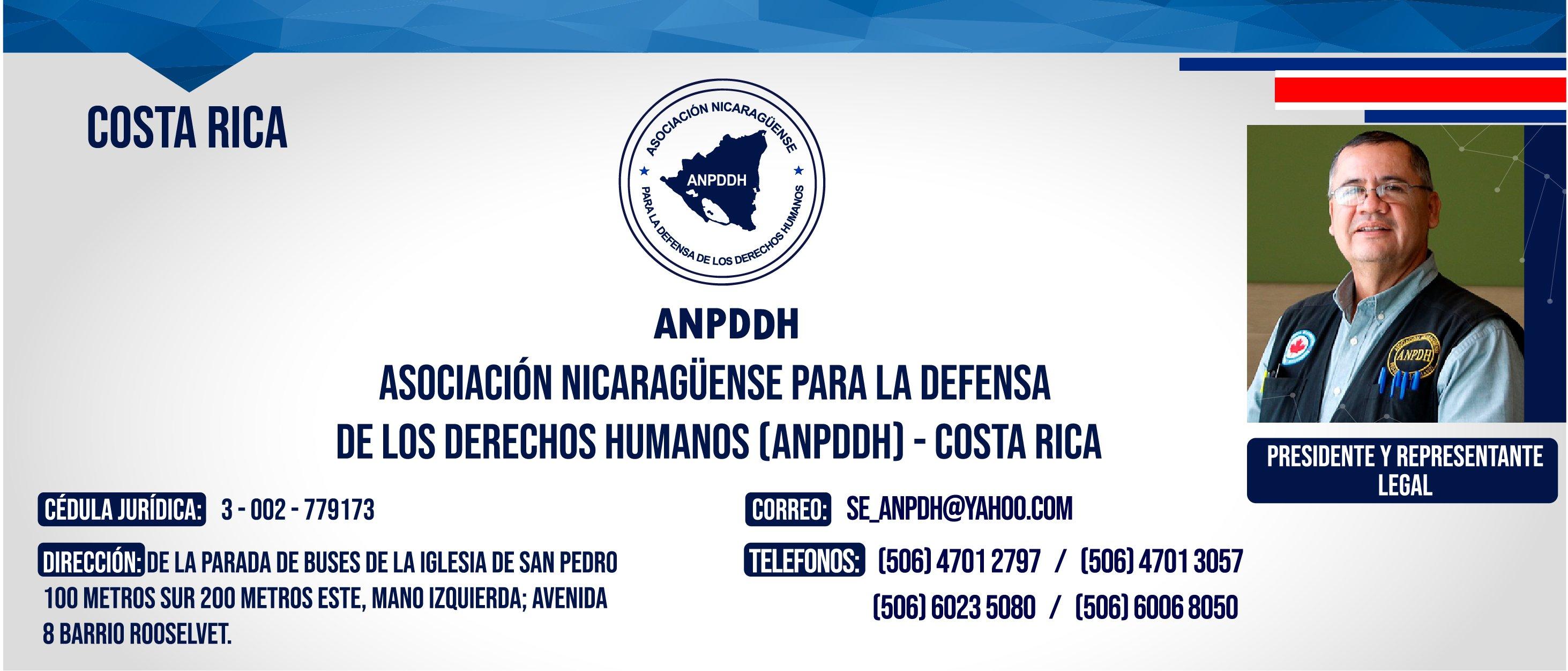 ANPDDH COSTA RICA