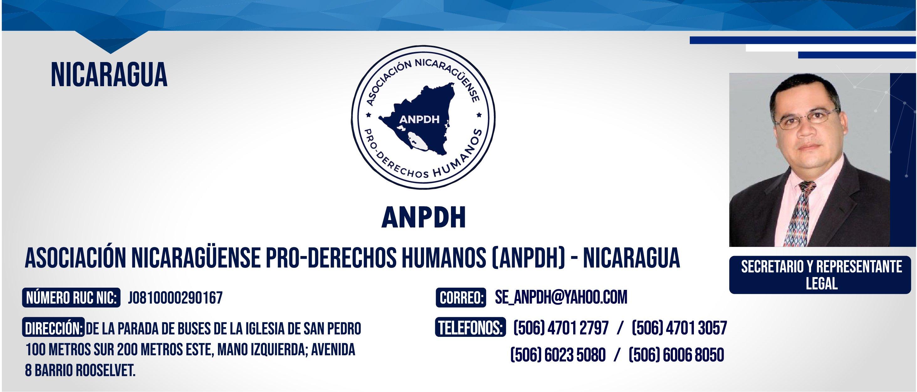 ANPDH NICARAGUA