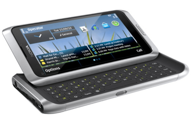 Symbian phone with keyboard