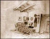 Un disegno degli internati