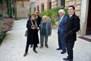 18.11.15: Giuseppe Viterbo visita Villa Giustiniani Bandini (sede del Campo di Urbisaglia dal 1940 al 1943)