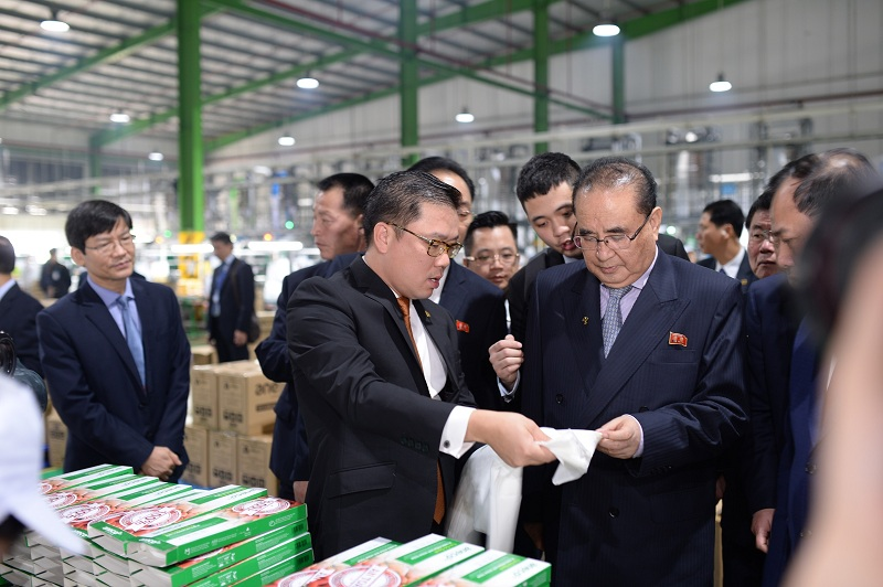 anh 3 kju - An Phat Holdings welcome the delegation of North Korean leader KIM JONG UN