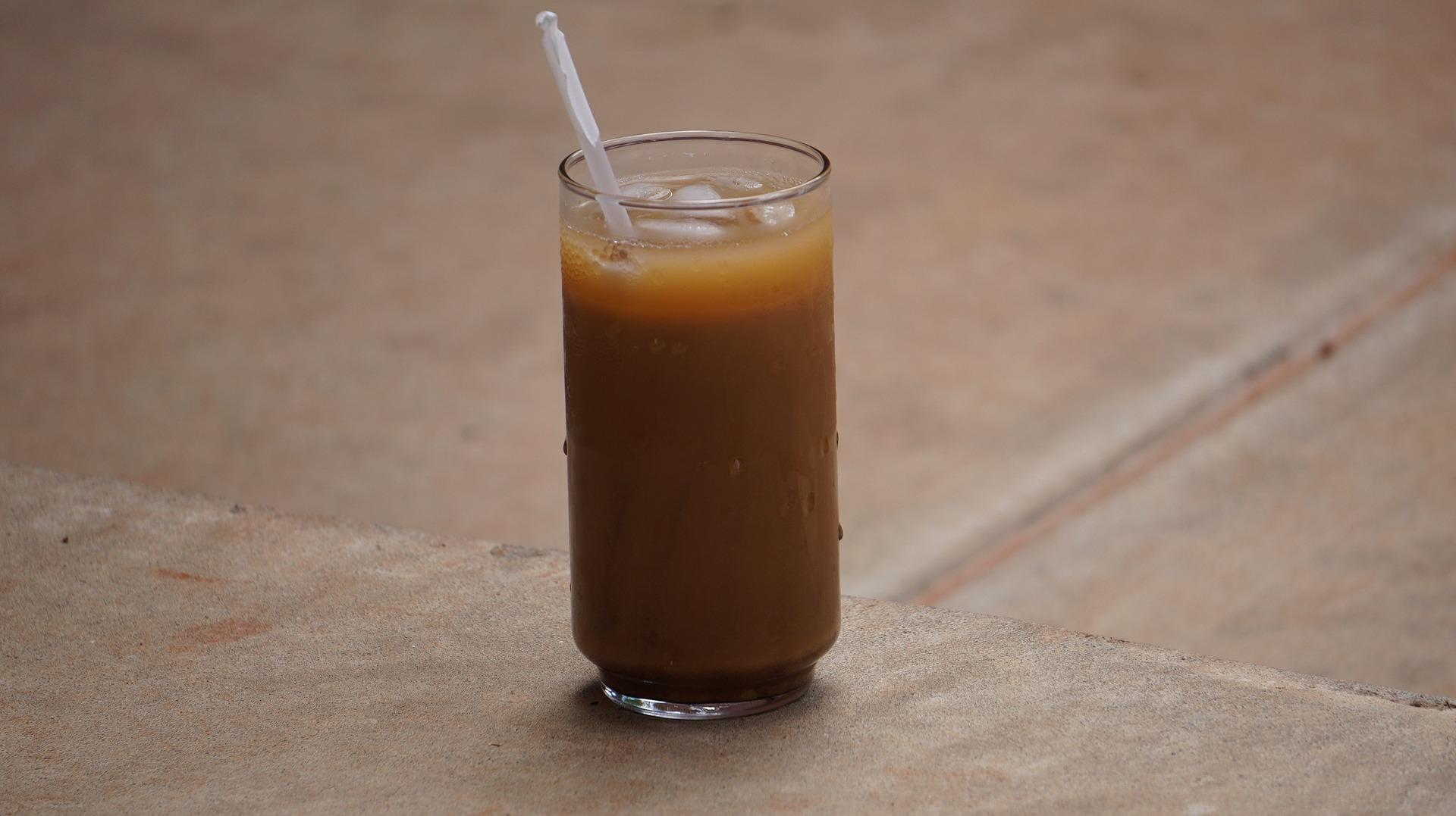 coffee-con refrescante